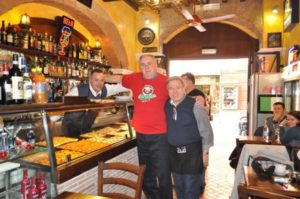 Fat Boys Visits Rome Pizzaria