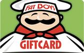 Fat Boys Gift Card