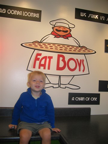 Little boy Fat Boys